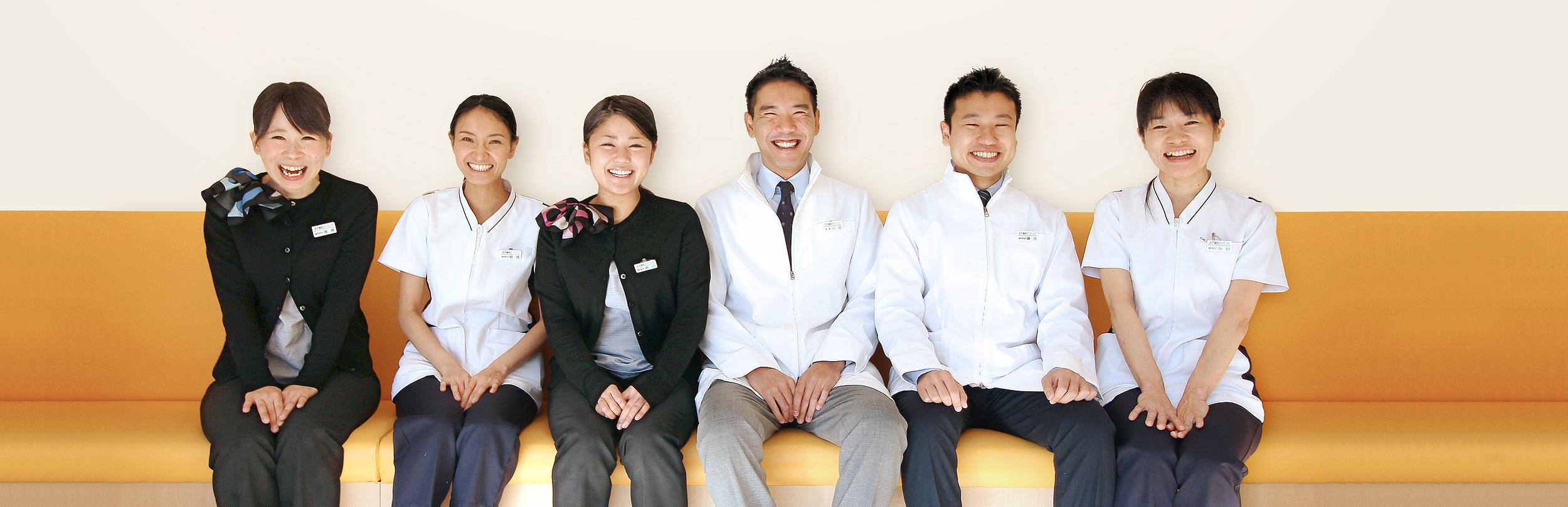 楽しく食べて笑顔で生きる。歯科医療を通して、健康で豊かな生活を支えます。おだ総合歯科の診療方針